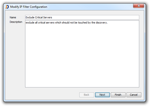 Modify IP Filter Configuration (2)