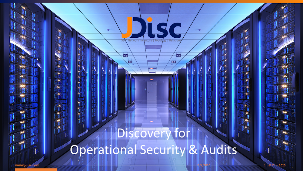 Disocvery for Operational Security